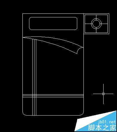 cad怎么画床及床头柜的平面图?图片