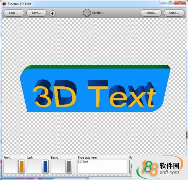3D圖標制作軟件(binerus 3D Text)