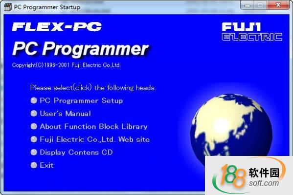 Flex PC Programmer(富士plc编程软件)
