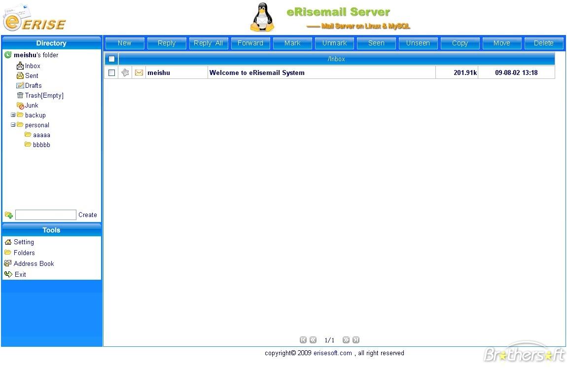 eRisemail Server